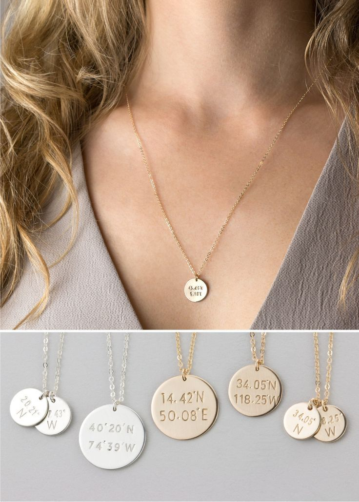 bbb69e9885c 10 Lovely Pieces of Personalized Jewelry | Bridesmaid Gift Ideas ...