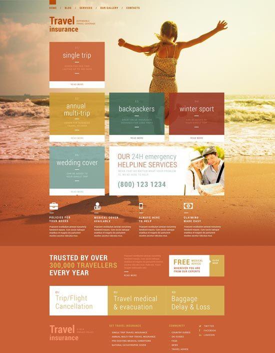 travel insurance theme 51129