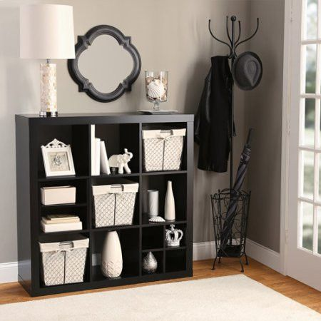 17 best ideas about shoe wall on pinterest shoe closet for Meuble cube modulable ikea