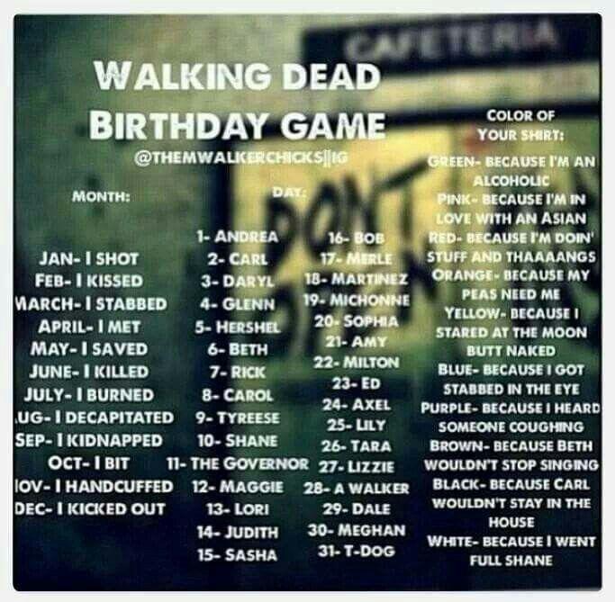 17 Best Ideas About Walking Dead Birthday Meme On