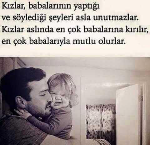 Kız çocuklarının baba sevgisi farklıdır...