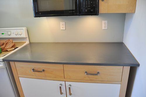 Does Rustoleum Countertop Paint Work : Painting current countertops (Rust-oleums Countertop Coating) would ...