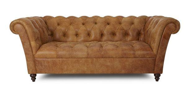 Pompeii 3 Seater Sofa  Outback | DFS