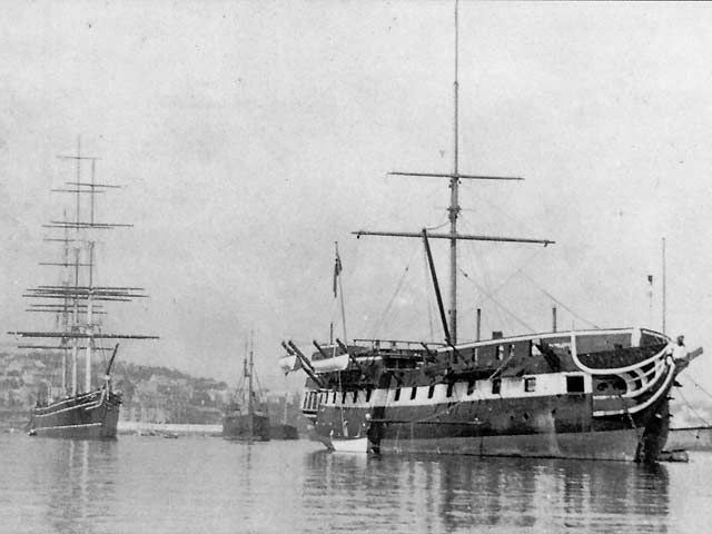 HMS Foudroyant - Nelson's famous warship and the vessel originally ...