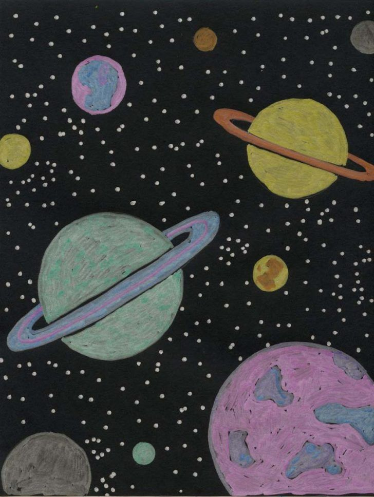 Planet Drawing Fun With Images Planet Drawing Cool Art