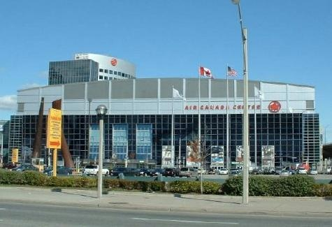 Air Canada Centre. Home of the Toronto Maple Leafs. Go Leafs Go!!!
