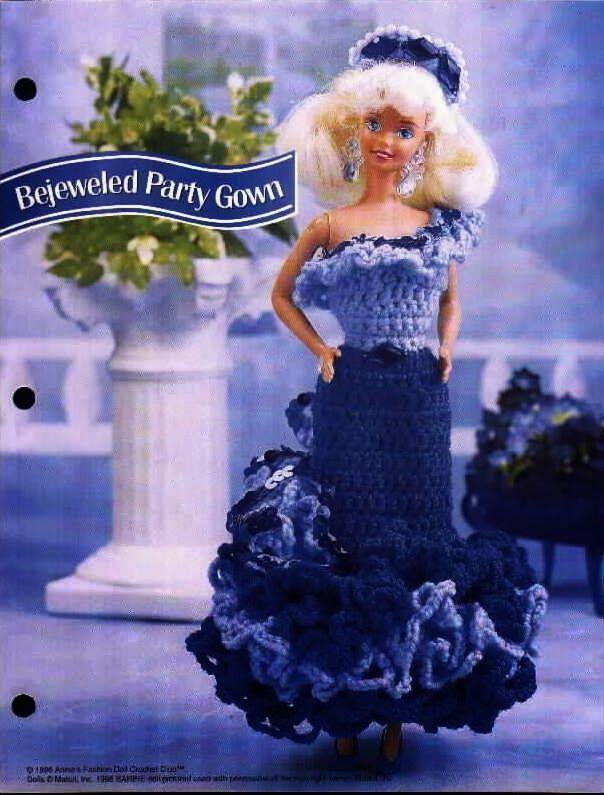 176 besten Barbie Bilder auf Pinterest | Häkelpuppen, Barbie muster ...