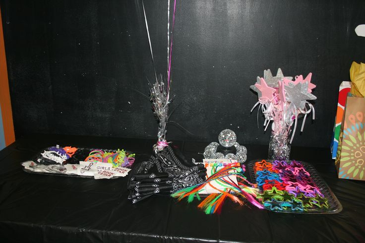 Dress like a rock star party favors