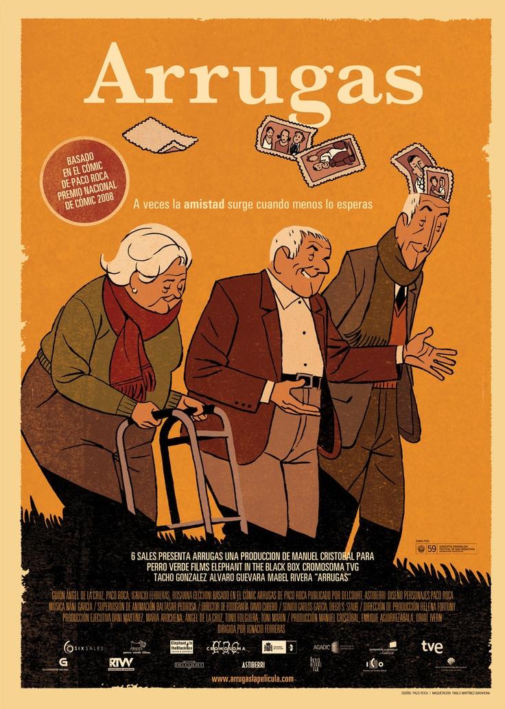 Arrugas: película de animación dirigida en 2011 por Ignacio Ferreras, basada en un comic de Paco Roca.