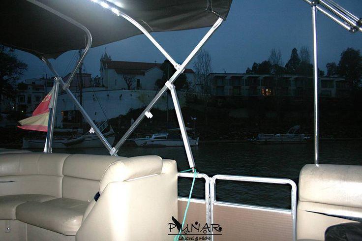On instagram by laucvel_miche_plunar #landscape #contratahotel (o) http://ift.tt/1Q7JlkC en barco. #paseoenbarco #paracruzaralaotraorilla #paracruzar #cruzar #cruzarenbarco #barco #barca #paseo #sanlucardeguadiana #alcoutim #frio #invierno #winter #noche #night #vistas #paisajes #paisaje #naturaleza #rio #rioguadiana #cruzandoelrio #comodidad #coginesblancos #cojinesenbarco #fff #followme
