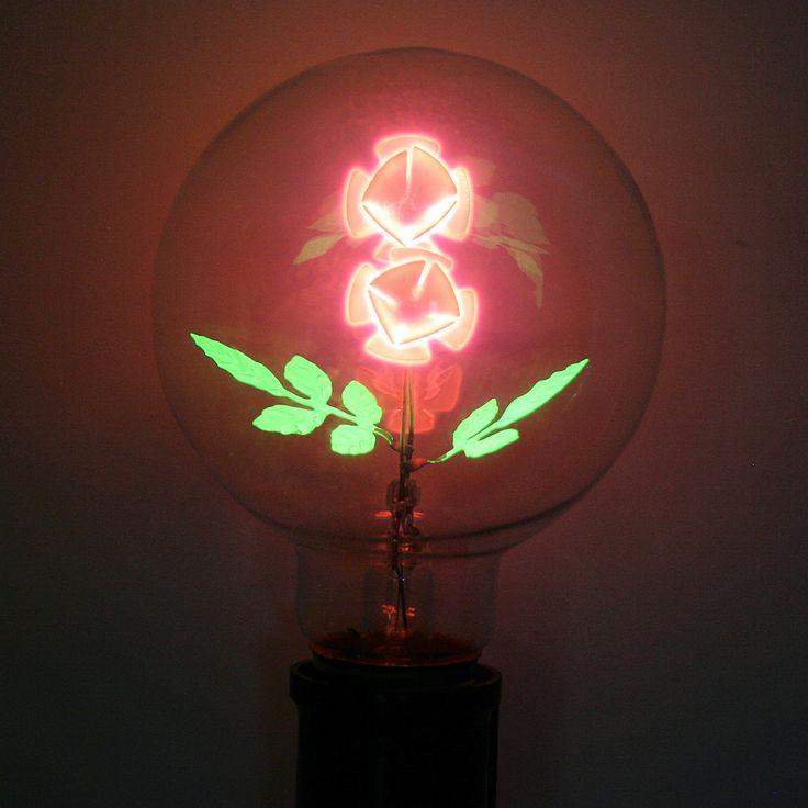 "Damar 47071 - ""Flower Rose"" G25 Medium Screw Base (05620A) at eLightBulbs.com"