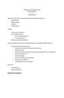 Modest Proposal Essay Ideas Proposal Essays Proposal Essays Write An Essay  Discussing The Pros A Modest