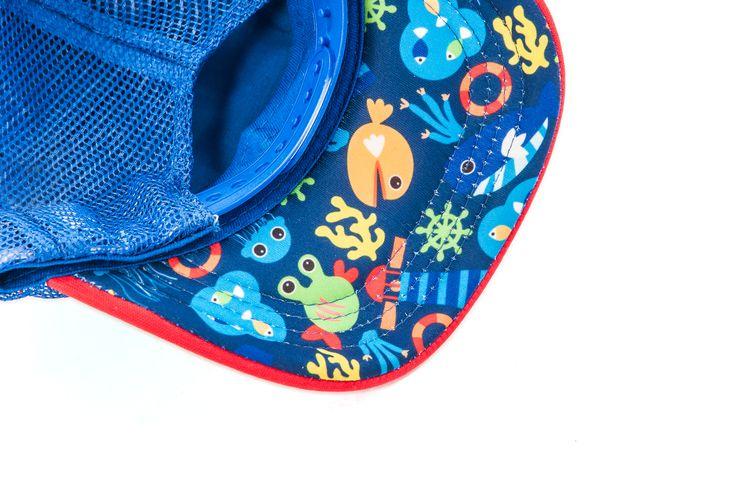 Under the sea baby cap