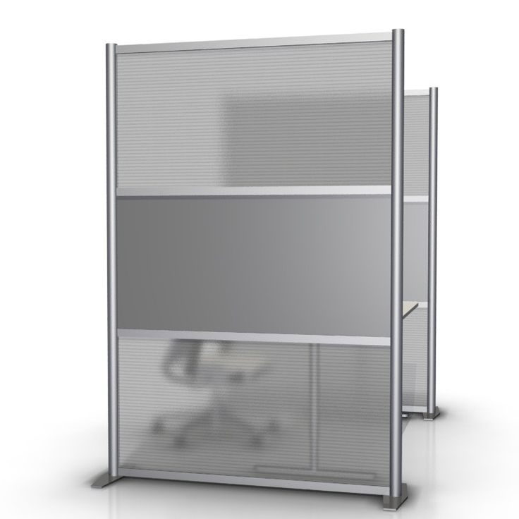 51 wide x 75 high room divider gray translucent sw5175 5 2l htw 1m gry products room - Opaque room divider ...