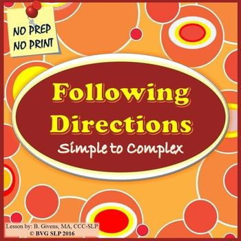 following simple directions Amby presents these clerical test practice exercises for developing skills in following directions.