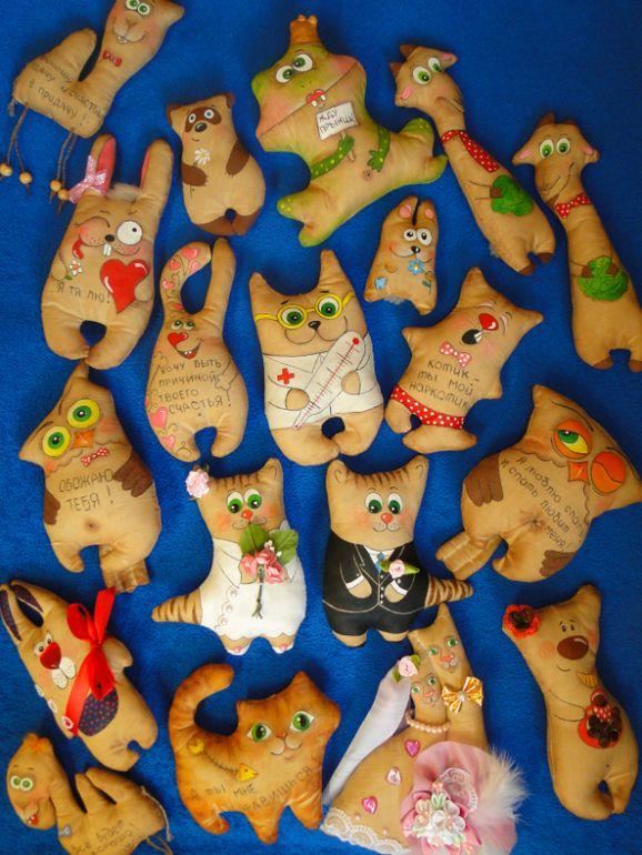Игрушечный мир (текстильные игрушки животные с использованием разных техник) - Сообщество «Рукоделие» - Babyblog.ru - стр. 981
