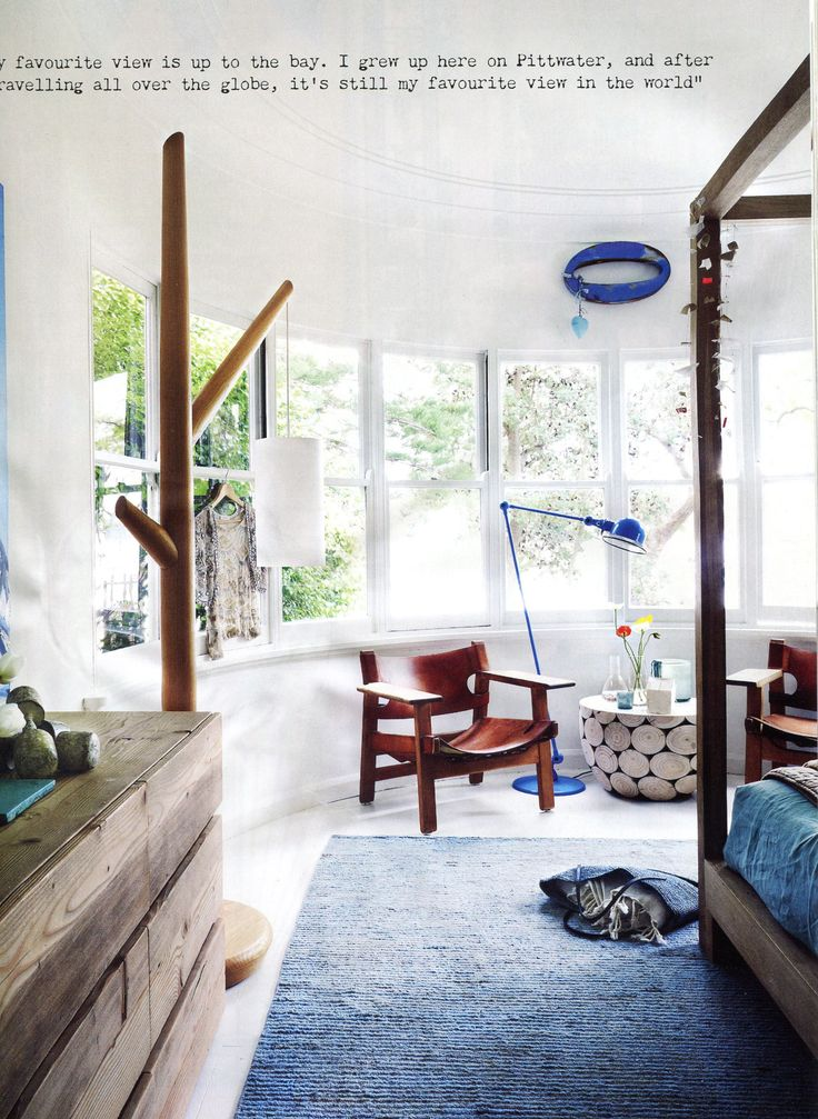 Mark Tuckey Clareville home, master bedroom
