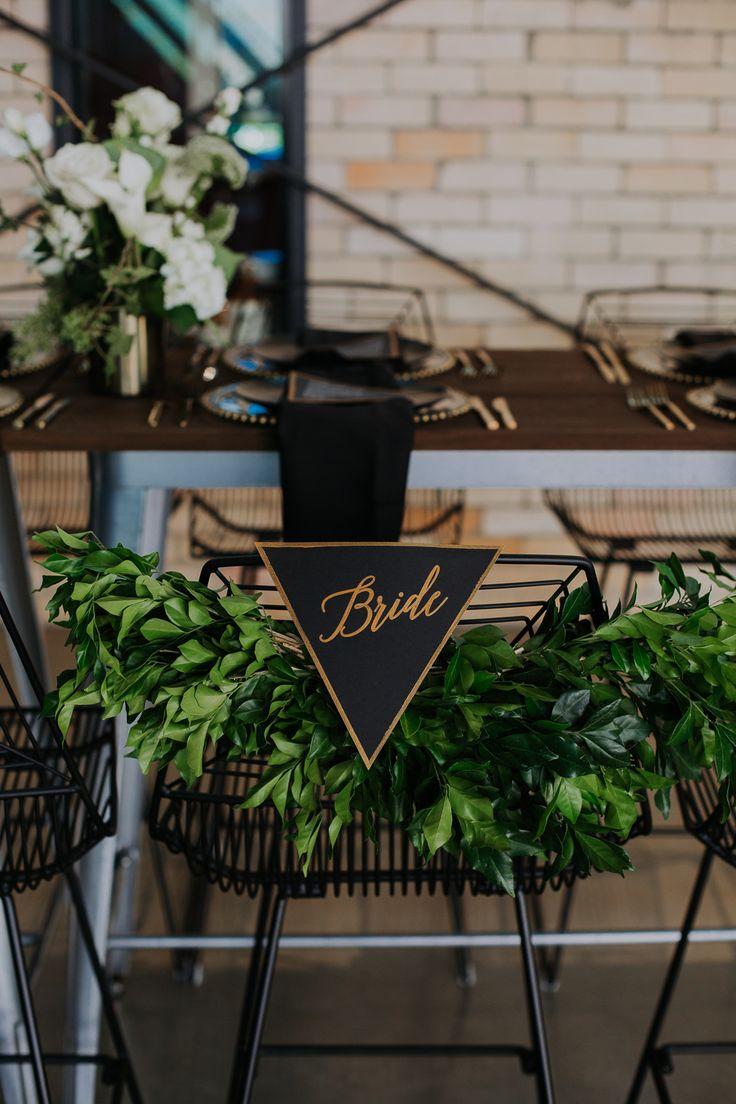 Industrial Dark Romance Wedding Ideas - Polka Dot Bride