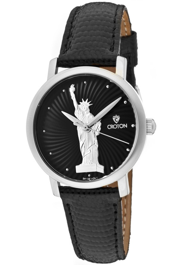 Price:$66.78 #watches Croton CN207286SLLB, With a royal appeal, this Croton timepiece has a regal design and adds a refined look to your wardrobe.