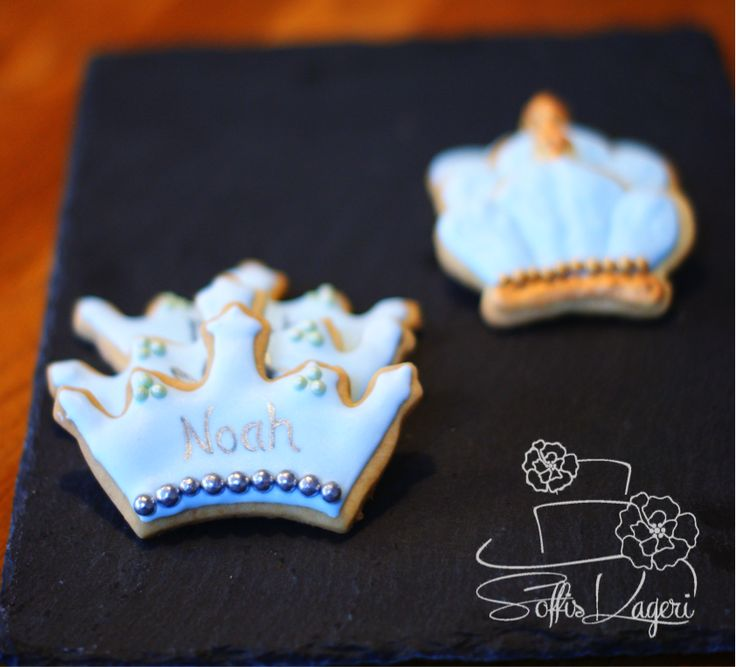 Prince crown sugar cookies Soffi's Kageri