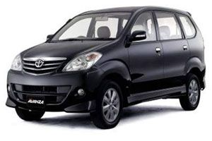 Toyota Avanza Most favorite car hire, Medium size family car, Doors child safety lock, Excellent for family, CD player, Radio stereo, power stering, ...