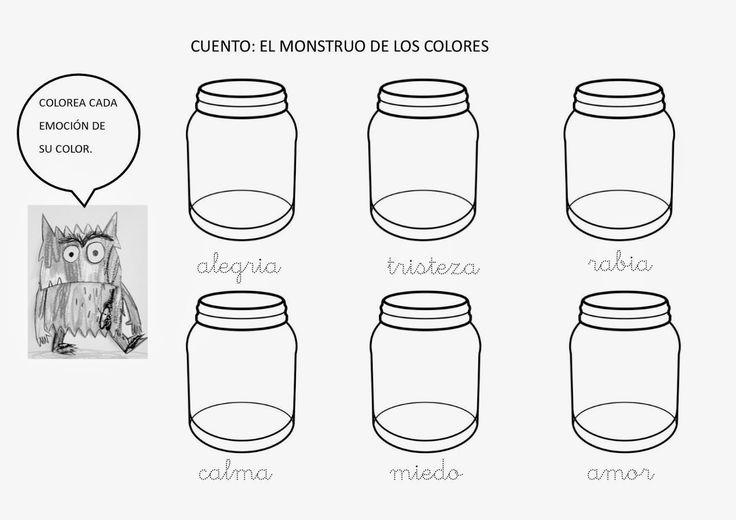UNA ESCUELA UNA ILUSION: EL MONSTRUO DE COLORES