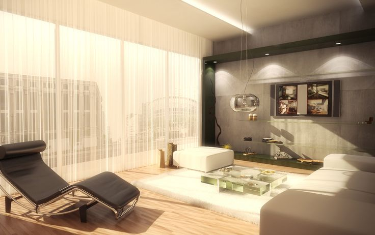 An interior visualisation made for IN2DESIGN