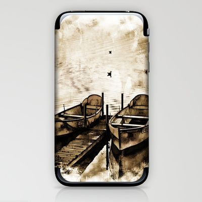 Twin Boats II iPhone & iPod Skin by AngelEowyn. $15.00