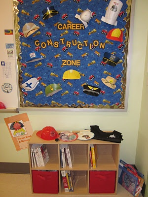 Career exploration area of my school counseling office