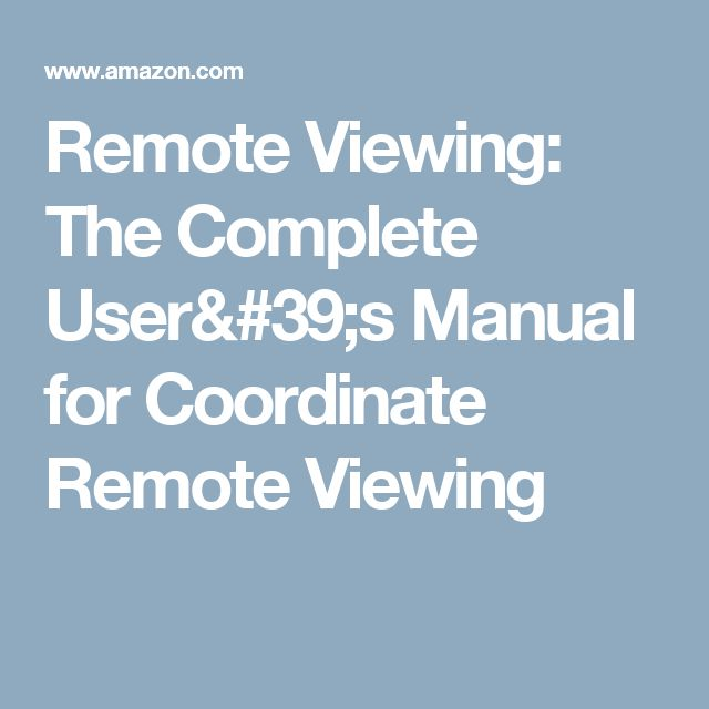 the complete remote viewing training system.rar