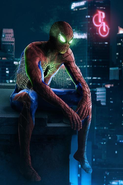 #Spiderman #Fan #Art. (Spider-Man) By: BossLogic. ÅWESOMENESS!!!™ ÅÅÅ+