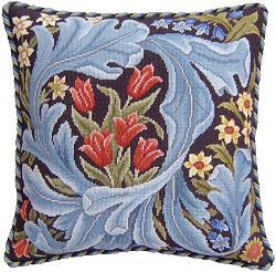 Beth Russell Needlepoint William Morris Cushion kit - lots of inspiration here