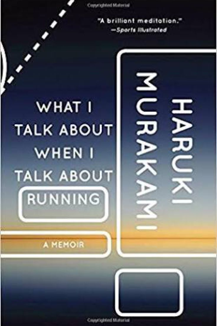 If you love running, writing, or Haruki Murakami, then this book is for you. What I Talk About When I Talk About Running by Haruki Murakami -bookerina.com
