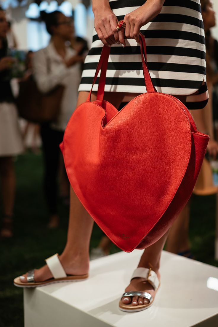 Kate Spade 2015 - red heart bag