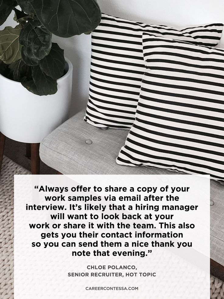 Add it to your bag along with those copies of your resume.