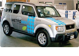 Vehicle Wrap Advertising - Vehicle and Fleet Graphics - MetroMedia Technologies