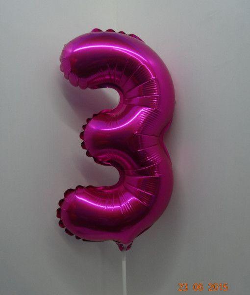 """Globos metalizados números 14"""""""
