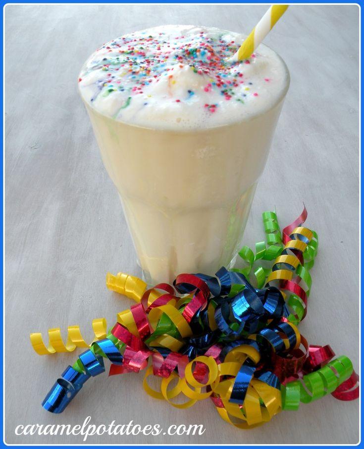 Best 25+ Birthday Cake Milkshake Ideas On Pinterest