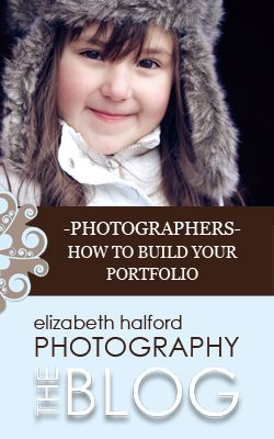 How to build your photography portfolio {and when to open for business}