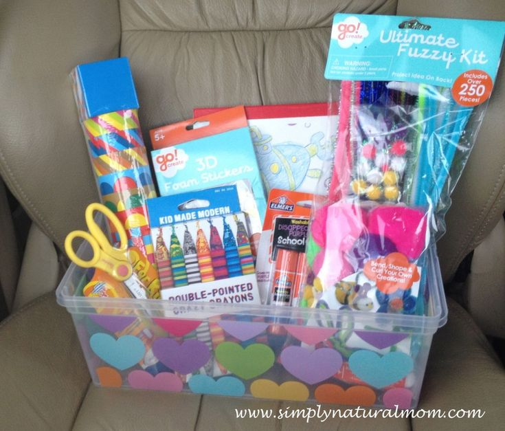On The Go, Busy Box Craft Gift for Toddler  by:  Simply Natural Mom