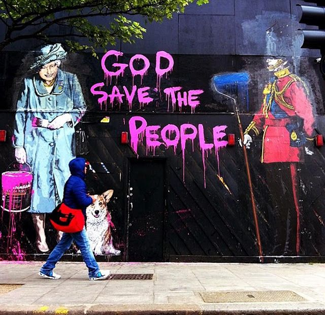 Mr. Brainwash New Murals In London | feel desain