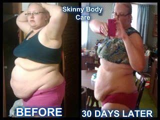 Skinny Fiber Results: 16 Inches gone in 30 Days! Skinny Fiber works!
