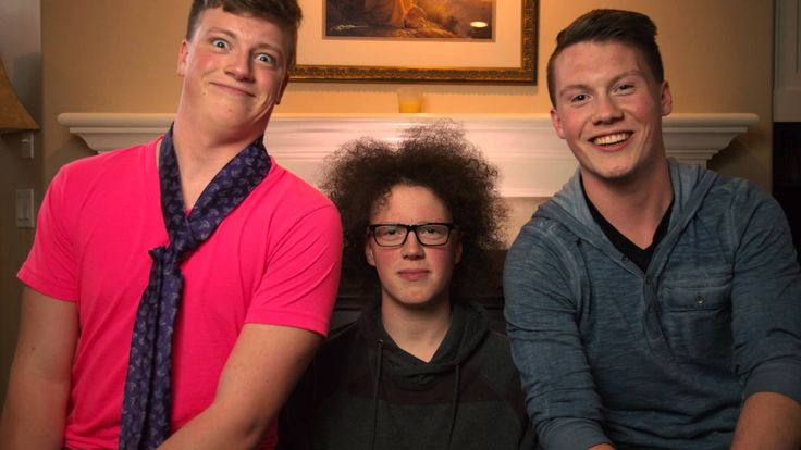 The Stickel boys struggle through the task of taking a mothers day photo. Special for Mom's at the 2015 Mother's Day Service at My Victory Church