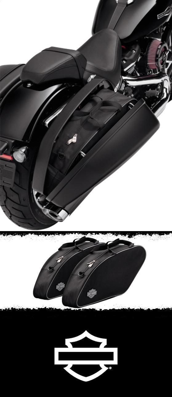 Simplify packing and unpacking your motorcycle. | Harley-Davidson Saddlebag Travel-Paks