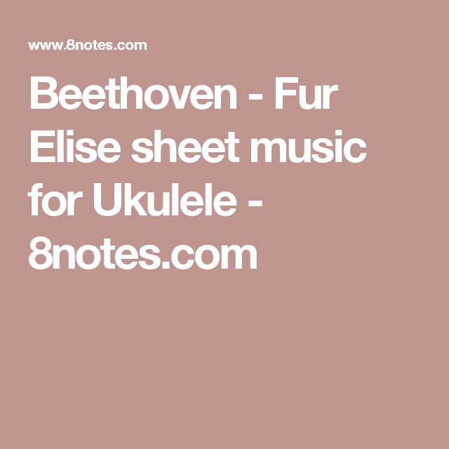 25 Best Ideas About Christmas Sheet Music On Pinterest: Best 25+ Fur Elise Sheet Music Ideas On Pinterest