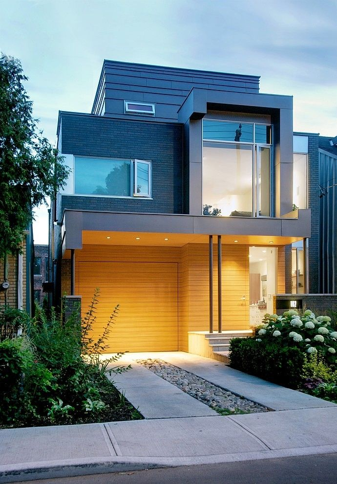 Modern three-storey single household home situated within the metropolis of Milton, in Ontario, Canada. ... #architecture #design #home #House #interior #modern #architecture #interiordesign #live #life #design #moderndesign