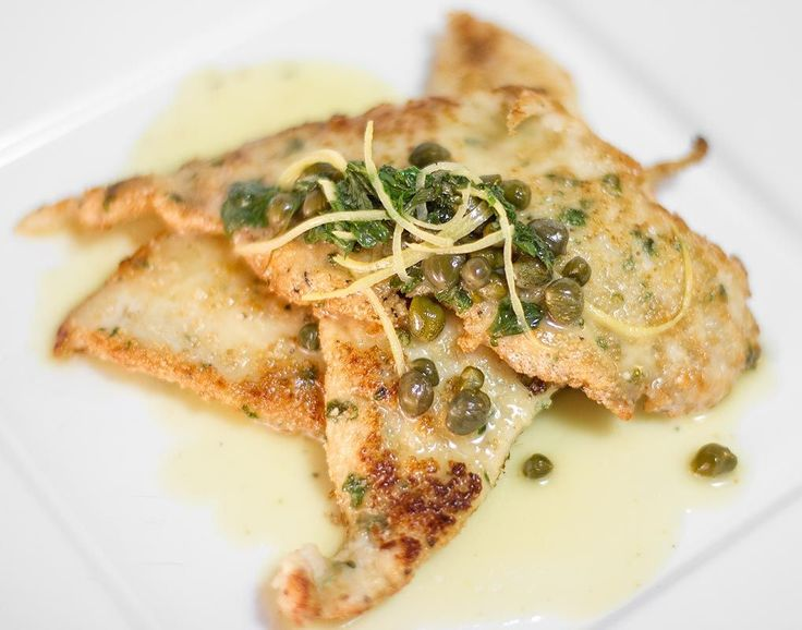My Mom's Chicken Piccata Recipe / @DJ Foodie / DJFoodie.com