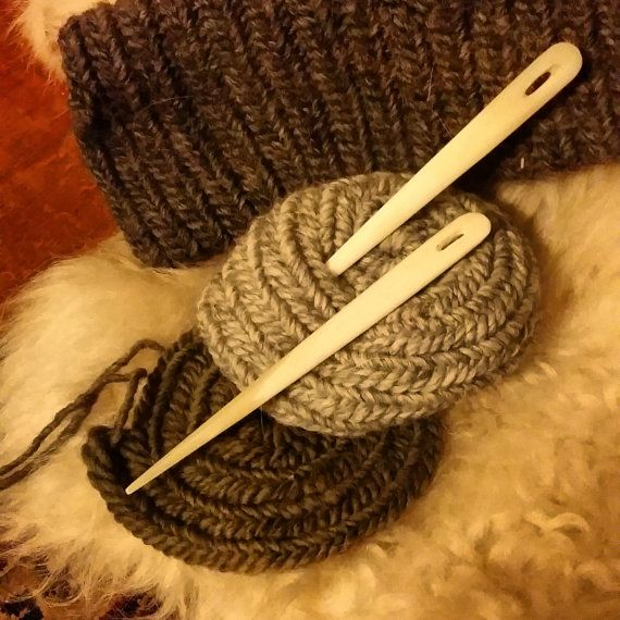 Large Bone Nalbinding Needle, made and for sale by WarmHearthCreations @ Etsy. Please see link!