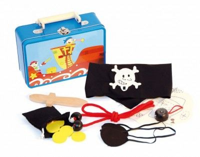 Woody Set v kufríku Piráti