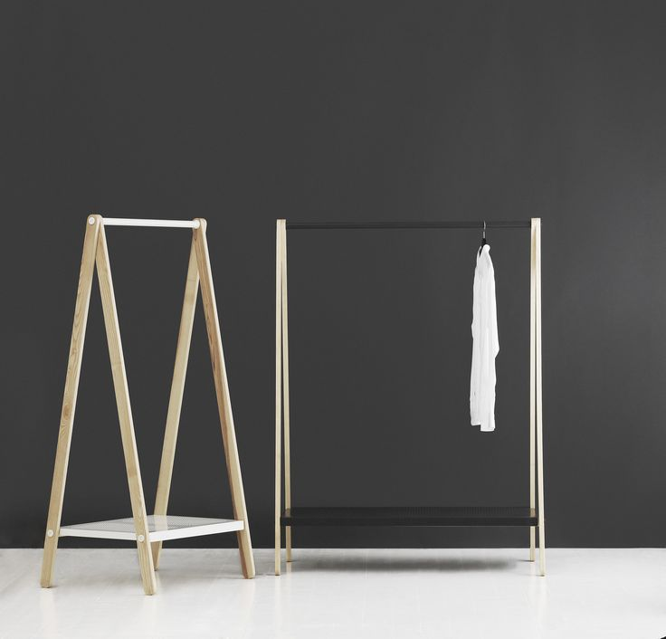 When the clothes are allowed to make the statement. Toj Clothing Rack from Normann Copenhagen